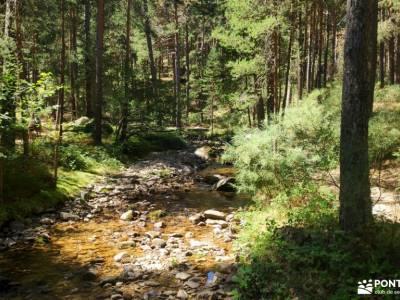 Pesquerías Reales-Valsaín,Río Eresma;escapadas por madrid mapas senderismo senderismo rutas sende